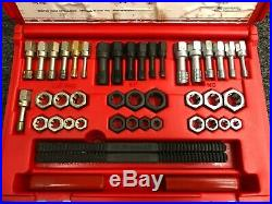 Snap-on Tools USA NICE 42 Piece SAE & Metric Rethreading Tap and Die Set RTD42