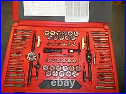 Snap-on metric and SAE tap and die MASTER SET 117 piece set. Never used