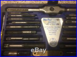 TDM-117A Blue Point Metric Tap & Die Set Used & Ready To Ship For Free
