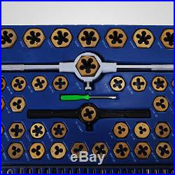 Tap And Die Set 86 Pieces SAE And METRIC WithStorage Case Threading Tool Set Best