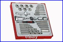 Teng Tools TTDTD34 34 Piece Tap And Die Set