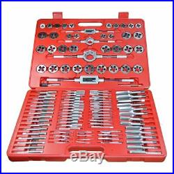 Tool Hub 9162 Tap and Die Metric Set 110 Pc Engineers Kit Screw Bolt Cutter Case