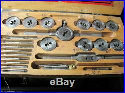 Two Tap & Die sets. Metric and standard/from watch shop estate/