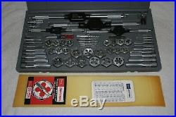 Vintage Craftsman Kromedge 59 PC Metric Tap and Die Set 9-52096 Crown Logo Box