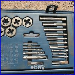 Vintage Craftsman Sears 107 Piece Tap And Die Set Standard And Metric 9-52386