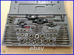Vintage Craftsman Tap and Hex Die Set, Metric, 59 Pieces, 52373 looks new