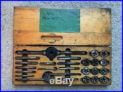 Vintage MAC tools Hex Tap/Die Drill Set In Box nice