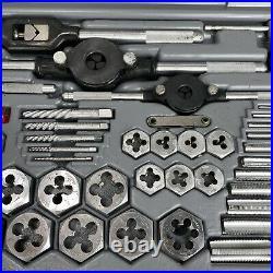 Vintage NOS Sears Craftsman Tools USA 9-52096 Kromedge 59 PC Tap Die Metric Set
