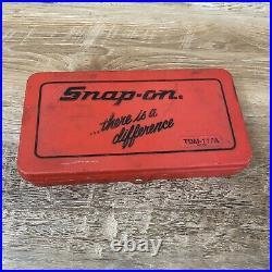 Vintage Snap-on Tdm-117a Metric 42 Pc Combination Tap & Die Set