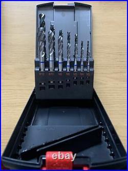 Wurth Zebra Quality M3-M12 Machine Tap Set In Case. Art. 0653 01